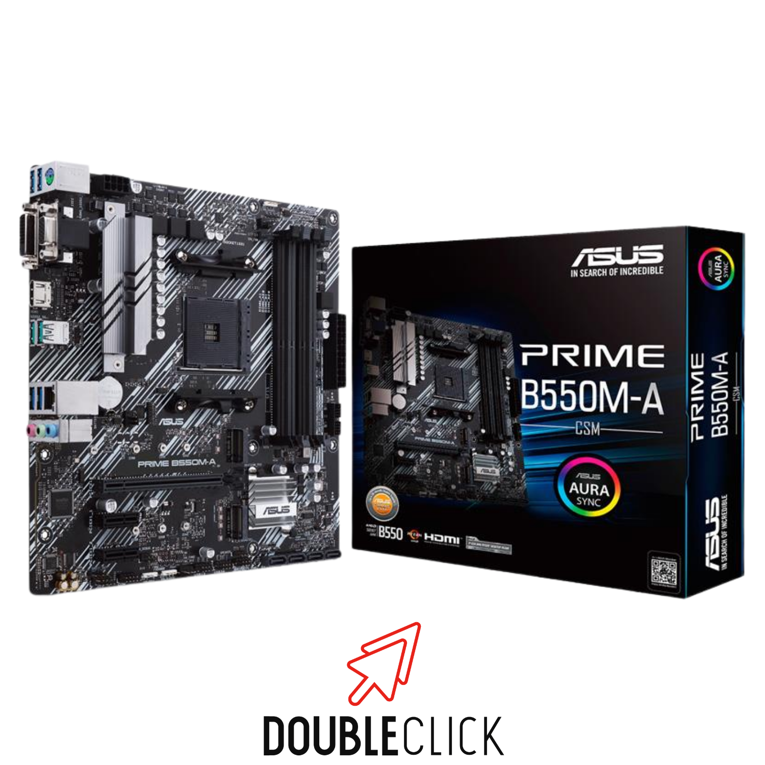 ASUS MOTHERBOARD B550M-A PRIME 3RA DDR4 AM4